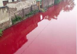 硫酸亚铁洗水厂脱色